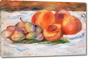 Ренуар. Натюрморт с персиками