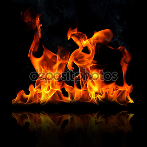 Пламенный огонь