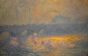 Клод Моне. Мост Ватерлоо 1903г
