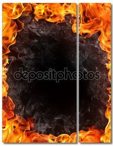 фон огня