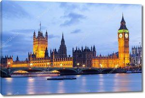 Биг-Бен и Вестминстерский мост Лондон