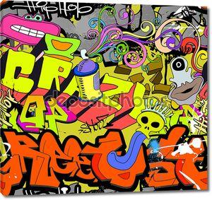 Хип хоп граффити