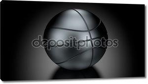 Корзина мяч в низких ключевых освещения