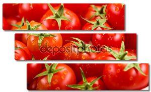 томатный фон