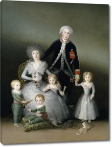 Гойя и Лусиентес Франсиско де. Семья герцога Осуна