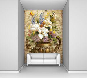 Натюрморт с вазой из меди