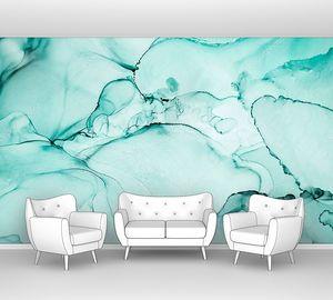 Чернила, краска, абстракция. Крупный план картины. Красочный абстрактный фон. Высокотекстурированная масляная краска. Высокое качество деталей.