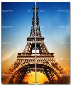 Величественные Эйфелева башня