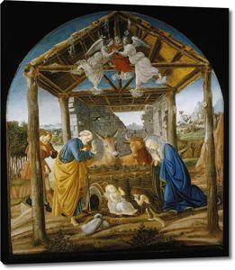Боттичелли. Рождество Христово (фреска)
