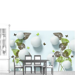 Шары и бабочки