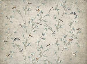 Птицы в кустах