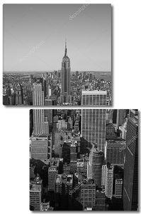 Манхэттен в черно-белом