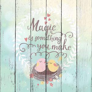 Волшебство это то, что вы делаете.