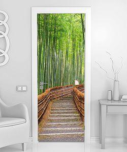 Мостки через бамбуковую рощу