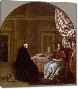 Кардучо Висенте. Урбан II и святой Бруно