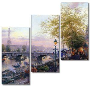 Дождливая осень в Париже