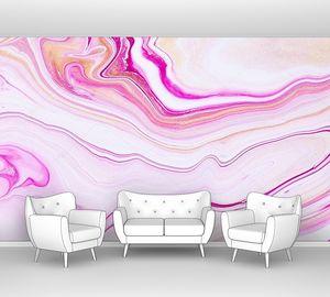 Фон с абстрактным эффектом радужной краски