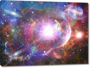Абстрактный космический фантазия