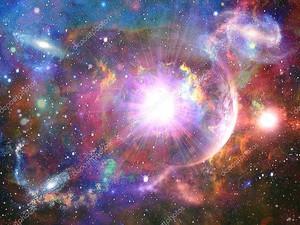 Абстрактная космическая фантазия