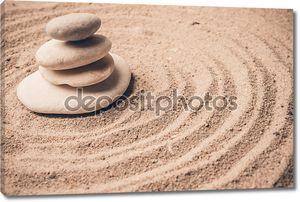 камни на песке