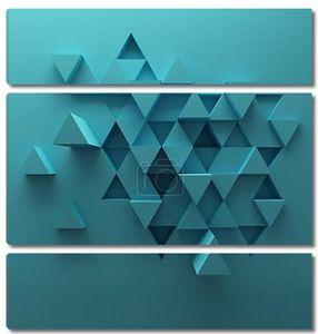 Абстрактный фон из треугольников