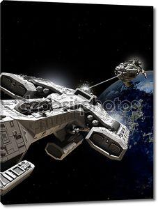 Космической битвы
