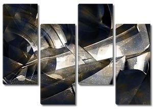 Абстрактный фон металл