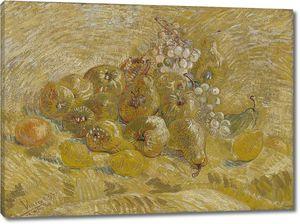 Ван Гог. Натюрморт с яблоками, грушами, лимонами и Виноградом