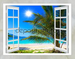 Окно с видом на океан