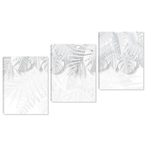 Бумажные листья пальм