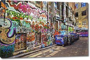 Стена из Граффити