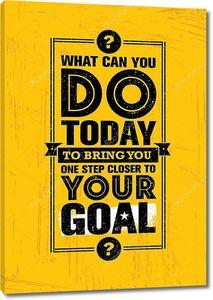 Что вы можете сделать сегодня