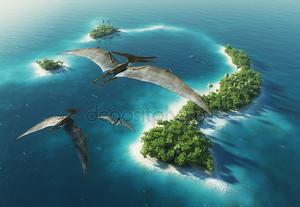 Природный парк динозавров. Юрский период