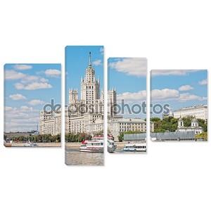 Высотное здание на Котельнической набережной в Москве, Россия