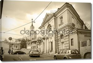 Тетеринский переулок и улица, Москва, Верхняя Радищевская, Ru