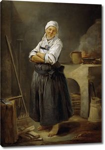 Ютен Шарль Франсуа. Саксонская деревенская кухня