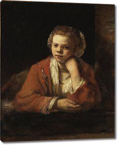 Рембрандт. Кухарка