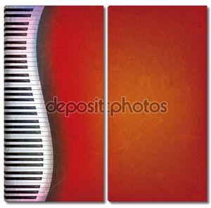 Фон с пианино