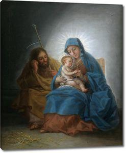 Гойя и Лусиентес Франсиско де. Святое семейство