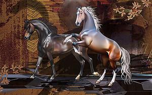 Бронзовые кони