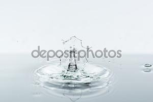 Брызги с водой