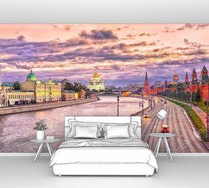 Московский горизонт на закате
