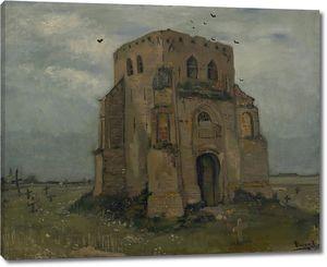 Ван Гог. Сельский погост и старая церковная башня
