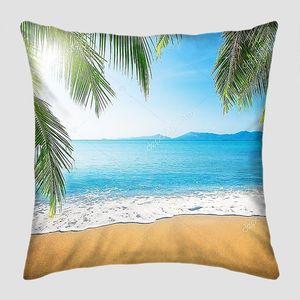 Песочный тропический пляж