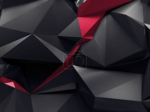 Абстрактные ограненные кристаллы