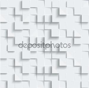 векторное резюме геометрическая форма от серых кубов. белые квадраты