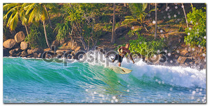 серфинг в Шри-Ланке