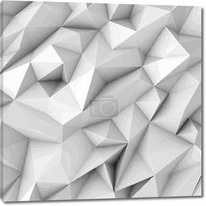 Абстрактный фон с полигона