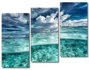 Удивительный морской пейзаж