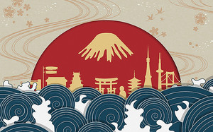 Азиатские мотивы в солнечном полукруге